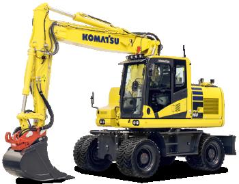 Excavator pe roti Komatsu PW160-11