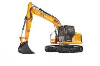 Excavator pe senile JCB 140X