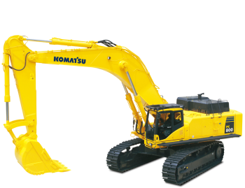 Excavator pe senile Komatsu PC800-8