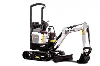 Miniexcavator BOBCAT E10E Compact Excavator