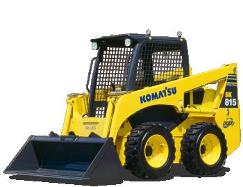 Miniincarcator Komatsu SK815-5